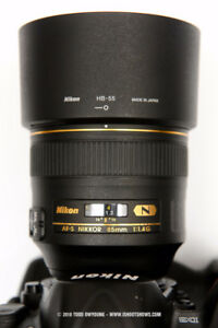 Nikon 85mm 1.4G in Like NEW Condition