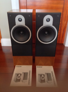 B&W DM-1800 speakers