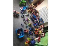 Huge batman imaginext bundle complete with figures, weapons & vehicles