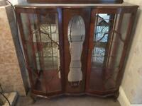 Antique china cabinet. (In Belfast )