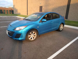 2010 Mazda Mazda3 Gx Sedan 180km, Gas Saver, Bluethooth