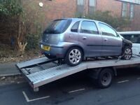 Scrap cars, Non runners and runners. All car and vans wanted. Recovery service also available.