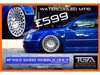 "18""x9.5"" Watercooled MT10 Alloy Wheels"