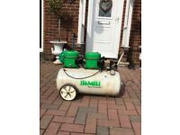 Bambi air compressor perfect working order been used for spray tanning needs a good clean