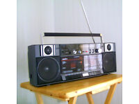 Radio Doulble Cassete Player