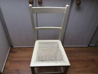 A small chair.