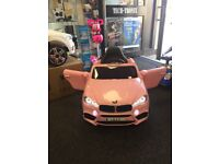 BMW X5 Style In Pink, Parental Remote Control, Self Drive