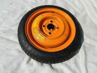 MG TF spare wheel