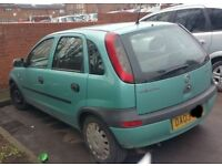 Vauxhall Corsa 1.2 N/S Wing In Green (2003)