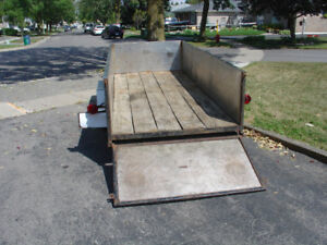 UTILITY TRAILER FOR SALE 4'X10'