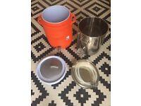 Homebrew Boil Kettle (Blichmann 38L/10gal) and Mash Tun
