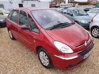 Citroen Xsara Picasso 1.6 HDi Exclusive MPV 5dr, LONG MOT. VOSA HISTORY. HPI CLEAR. P/X WELCOME
