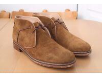 Men's Ben Sherman Brown Suede Desert Boots – QEWY CHUKKA 2 – size 43