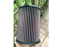 K+N filter ford green stuff jamex performance intake Kuga Focus