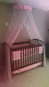 CRIB AND BUMPER PADS FOR SALE