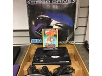 Boxed Sega Mega Drive Console With Sonic 2