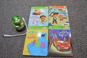 Tag Junior by Leapfrog with books and cable - Toys