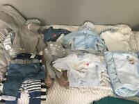 Baby Boy Clothes 1-6 months
