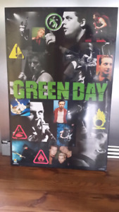 Green Day Poster/Plaque
