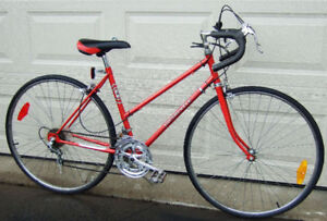 Vintage Red SuperCycle 10-Speed Racer with new tires