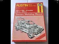 Austin metro Haynes manual