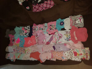 0 to 3 month baby girl clothing