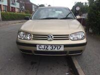 Volkswagen Golf 1.4 Excellent Condition 12 months MOT