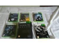 XBOX 360 HALO games