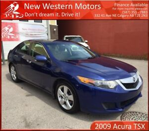 2009 Acura TSX ACCIDENT FREE! HEATED SEATS! SUNROOF!