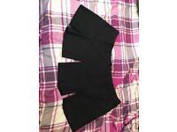 TU charcoal school shorts