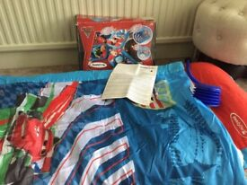 Lightning Mcqueen Ready bed £5. Excellent condition Collection from Romford, RM1.