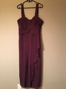 Size 14 plumb bridesmaid dress