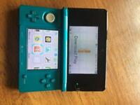 3ds and games including Pokemon sun.