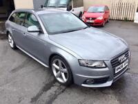 AUDI A4 2.0 TDI S-LINE ESTATE, 2009, HALF LEATHER **FINANCE THIS FROM AS LITTLE AS £43 PER WEEK**