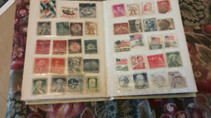 STAMPS VERY OLD FROM ALL OVER THE WORLD COLLECTION