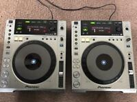 Pioneer CDJ-850 (pair) CD USB Original Boxes Sell or Swap for a pair of Technics 1200's or 1210's