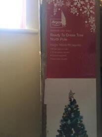 Christmas tree ready to dress