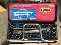 Elora master combined socket set