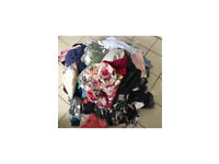 Bundle of 110 brand new tagged or bagged clothes