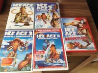 ICE AGE DVD COLLECTION EXCELLENT CONDITION