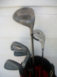 GOLF CLUBS R.H. WILL GET YOU STARTED ..REDUCED NOW  $30.00 ..