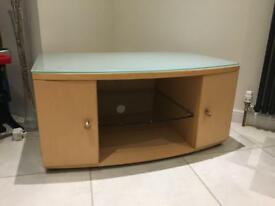 Tv unit with DVD storage