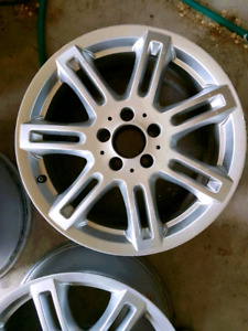 "2 Mercedes Benz C-300 17"" wheels."