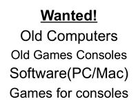 Wanted! PCs, Consoles, Software and games