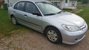 2005 Honda Civic $2300 OBO