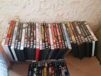 Over 190 various dvds