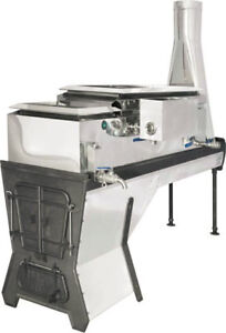"""CDL Maple Syrup Evaporator 20"""" X 66"""" 6700202WG  (left draw off"""