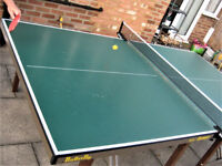 Butterfly Europa Professional Table Tennis Table with Bats, Balls & Net