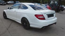 Mercedes-Benz C 350 AMG SPORT DAMAGED SPARES OR REPAIRS SALVAGE