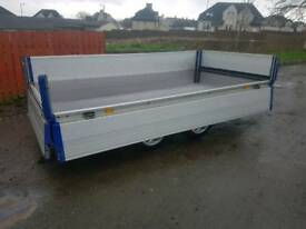 Rare ifor williams eurolite 10x5 drop side trailer
